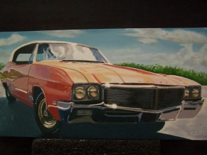 """Cool '72"" - 12x24 inches - $1200"
