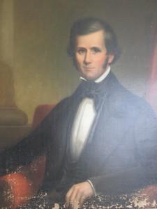 Portrait of Joseph Pennington Tucker - Before Restoration